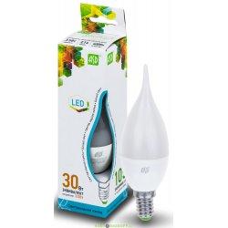 Лампа светодиодная LED-СВЕЧА НА ВЕТРУ-STANDARD 3.5ВТ 160-260В Е14 4000К 300ЛМ ASD