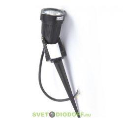 Светильник светодиодный грунтовый (настенный) 5 Вт, угол 45 градусов, IP65, 220 В, теплый белый