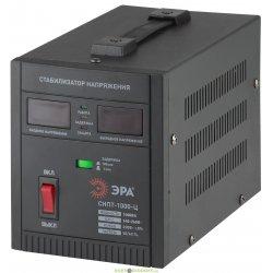 Стабилизатор напряжения переносной, ц.д., 140-260В/220/В, 1000ВА СНПТ-1000-Ц ЭРА