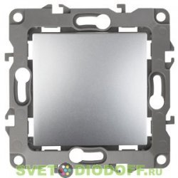 12-1103-03 ЭРА Переключатель, 10АХ-250В, Эра12, алюминий проходной