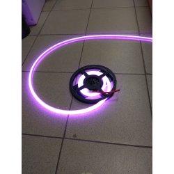 Термостойкая светодиодная лента для бань и саун 90LED/1м 15 Вт/м, 24В , IP68, Цвет: RGB катушка 2м.п.