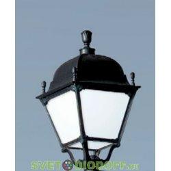 Садовый светильник венчающий FUMAGALLI большие формы, PIETRO чёрный, матовый