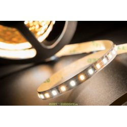 Лента светодиодная SMD 2835, 120 LED/м, 14,4 Вт/м, 24В , IP20, Цвет: Микс (3000+6000K)