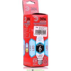 Светодиодная лампа ЭРА LED smd B35-6w-827-E27 ECO