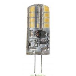 Лампа светодиодная ЭРА (диод, капсюль, 2,5Вт, 12В, тепл, G4)