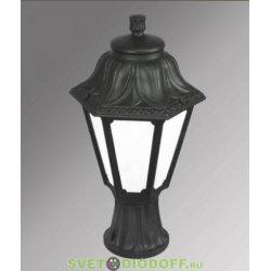 Светильник на подставке MIKROLOT/RUT черный, прозр., 1xE27 LED-FIL с лампой 800Lm, 2700К