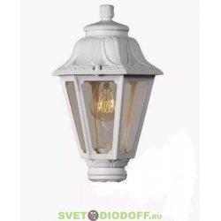 Венчающий светильник ANNA Fumagalli белый/прозрачный рассеиватель 1xE27 LED-FIL с лампой 800Lm, 4000К
