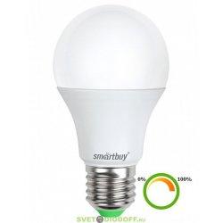 Светодиодная (Диммер) Лампа Smartbuy-A60-11W/3000/E27