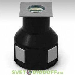 Грунтовый светодиодный светильник 3,6 W, DC24 V, 45 ° асимметричная линза, RGB (3 in 1)