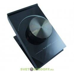Диммер панель Rotary SR-2805D-RF-UP Black (3V, DIM)
