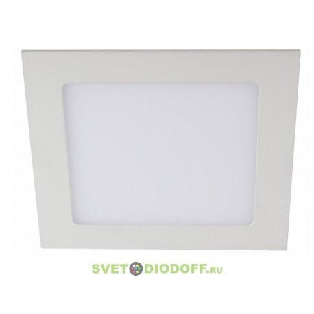 Светильник ЭРА светодиодный квадратный LED 3W 220V 4000K LED 2-3-4K
