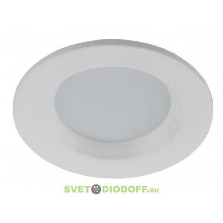 Светильник ЭРА светодиодный даунлайт smart 5W 3000K/4100K/6500K 330LM, белый KL LED 16-5s