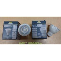 Лампа светодиодная уличная GU10, 3,5W, 4000K, 400Лм, (-30 +80), угол 36 градусов Италия