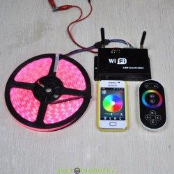 Контроллер LN-WiFi (12/24V, 144/288W, ПДУ) Управление с мобильных устройств