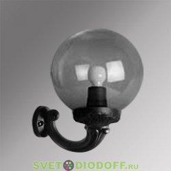Уличный настенный светильник Fumagalli Ofir/GLOBE 250 черный, дымчатый