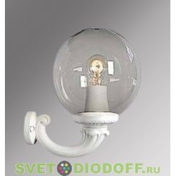 Уличный настенный светильник Fumagalli Ofir/GLOBE 250 белый, прозрачный