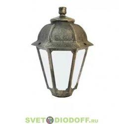 Венчающий светильник SABA Fumagalli белый 1xE27 LED-FIL с лампой 800Lm, 2700К