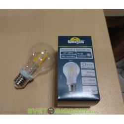 Лампа светодиодная Fumagalli (Италия) филомент 220v/6w LED-FIL, E27, 800Lm, 4000К