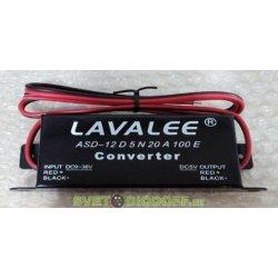 Блок питания автомобильный LAVALEE 12 В. 100 ВТ