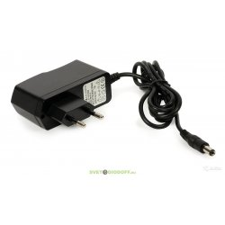 Сетевой адаптер 12V 1,0А (12Вт)