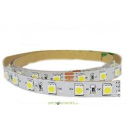 Светодиодная лента RT 2-5000 24V Day White 2x(5060, 300 LED, LUX)