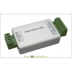 Усилители сигнала RGB для светодиодных лент LN-12A-T (12/24V, 144/288W)