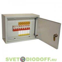 Осветительный щиток с выключателем ОЩВ-6 (63А/16А) 220х300х120мм