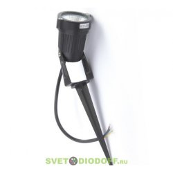 Светильник светодиодный грунтовый 5 Вт, угол 45 градусов, IP65, 220 В, теплый белый