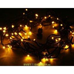 "Гирлянда ""Твинкл Лайт"" 6 м, темно-зеленый ПВХ, 40 LED, цвет Белый теплый NEON-NIGHT"