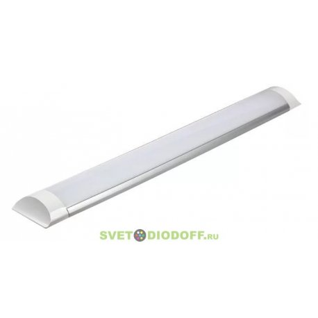 Линейный светодиодный светильник SPO-5-20-4K-M ЭРА 600x75x25 20Вт 1200Лм 4000К матовый