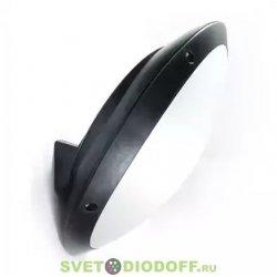 Влагозащищенный уличный светильник IP66 Fumagalli Remi/Lucia, черный, опал