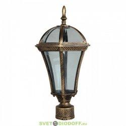 Уличный фонарь с основанием на столб венчающий SD-640P1