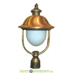 Уличный фонарь с основанием на столб венчающий SD-799P1