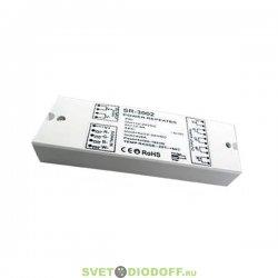 Усилитель для 4-канальных лент RGB+White SR-3002 (12-24V, 384-768W, 4CH)