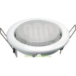 Светильник встраиваемый под лампу GX53 SD-9218 метал, белый