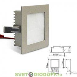 Светодиодный светильник LightLine LBE-078 DC3.4V 3W белый
