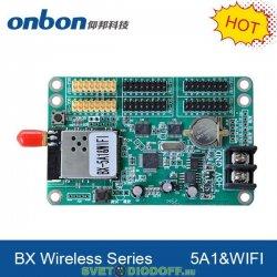 Контроллер для управления бегущими строками BX5A1+WIFI