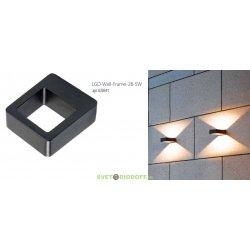 Архитектурный светодиодный светильник LGD-Wall-Frame-2B-5W Warm White