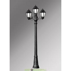 Столб фонарный садовый уличный Fumagalli Artu Bisso/Anna прозрачный 1,98м