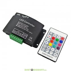 Аудиоконтроллер ARF-RF24B-4CH (12-24V, 192-384W) для создания цветомузыки