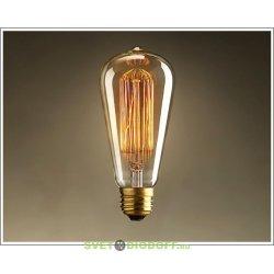 Светодиодная лампа (тип Vintage) LED-ST64-PRM 6ВТ Е27 3000К 540ЛМ GOLDEN золотистая