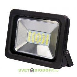 Светодиодный прожектор СДО-5-20 20ВТ 6500К 1600ЛМ IP65