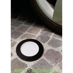 Уличный светодиодный светильник в полотно дорог FUMAGALLI CECI 120 / 7ВТ черный