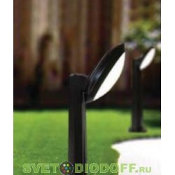 Влагозащищенный уличный светильник IP66 Fumagalli Lucia, чёрный