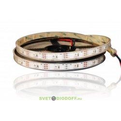 Светодиодная лента Smart SPI-5000P-AM 5V RGB (5060, 300 LED x1, 2812)
