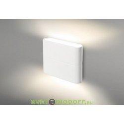 Влагозащищенный настенный светодиодный светильник SP-Wall-110WH-Flat-6W Day White