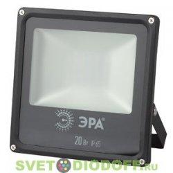 Светодиодный прожектор ЭРА LPR-20-2700К-М SMD теплый свет