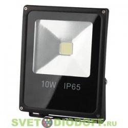 Светодиодный прожектор ЭРА LPR-10-2700К-М SMD теплый свет