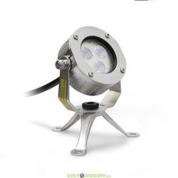 Накладной светодиодный светильник DC12V 6W IP68 (RGB) 45'
