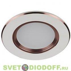 Светильник светодиодный ЭРА KL LED 4SC/WH LED 3*1W 210LM 220V 3200K